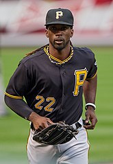 Andrew McCutchen jako zawodnik Pittsburgh Pirates