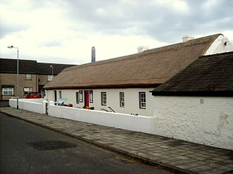 Andrew Jackson Centre - The front of the Andrew Jackson Cottage