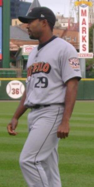Andy González (baseball) - González with the Buffalo Bisons