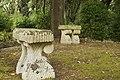 Angolo di riposo contemplativo nel giardino di villa Tamborino.jpg