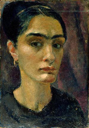 Anita Rée - Self-portrait (c.1910)