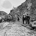 Anleggsarbeid i forbindelse med Blodveien 2. verdenskrig.JPG