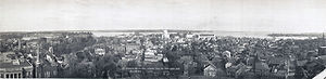 Annapolis panoramic view from State House, 1911.jpg