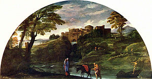 Landscape with the Flight into Egypt (Carracci) - Image: Annibale Carracci 003