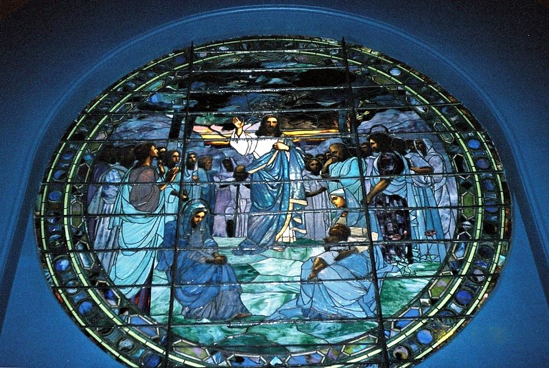 File:Annunciation Greek Orthodox Cathedral (Baltimore) - Sermon on the Mount - Stained Glass.jpg