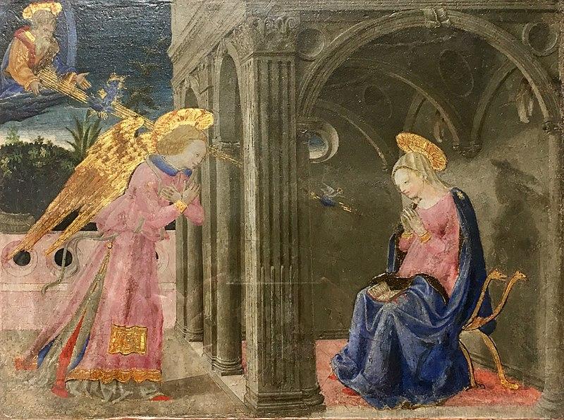 File:Annunciazione, Apollonio di Giovanni, Museo della Collegiata, Castiglione Olona.jpg