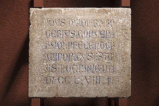 Épitaphe de Rogerius Convenarum