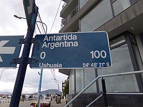 Antártida Argentina Street, Ushuaia, TDF.JPG