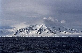 Antarctica, Mountains