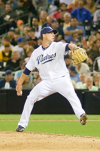 Anthony Bass - Bass with the Padres (2011)