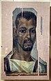 Antinoé, ritratto d'uomo di colore, 190-230 dc ca..JPG