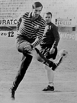 1970–71 Panathinaikos F.C. season - Puskás with Antonis Antoniadis (1971)
