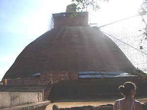 Kalinga Magha - Jetavanaramaya, one of the many massive stupas raided during Magha's reign.