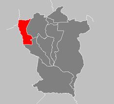 Ubicación de Municipio Anzoátegui