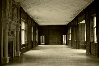 Apethorpe Palace - The interior of Apethorpe Hall