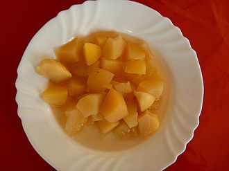 Apple sauce - A chunky German apple sauce
