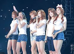 Apink during Pink Paradise concert, 30 May 2015.jpg