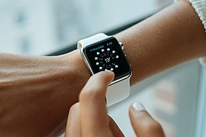 Wearable computer - The Apple Watch, released in 2015