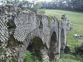 Roman Aqueduct of the Gier: The Bridge of Granges