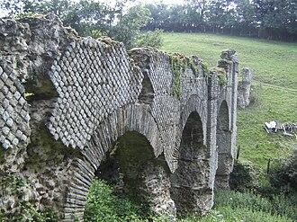 Chabanière - The Gier-Saint Maurice aqueduct