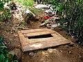 Arborloo construction in Cap-Haitien - 3 - Wooden platform.jpg