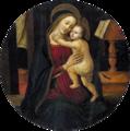 Arcangelo di Jacopo del Sellaio Virgen con Niño (restauré).png