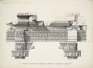 Rudra Mahalaya Temple - Carving