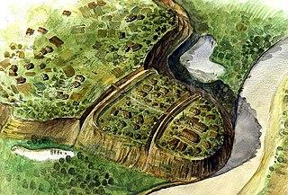 Argedava Dacian fortified settlement