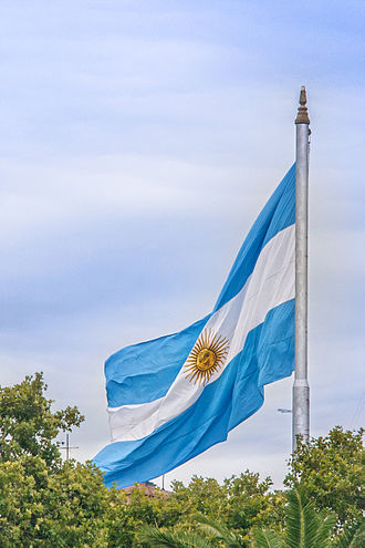 Flag in Buenos Aires. Argentina (9443542299).jpg