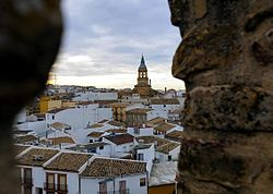 Skyline of Arjonilla, Spain