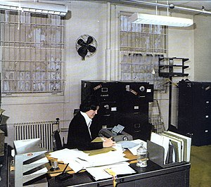 Arlington Hall - A DIA office at Arlington Hall Station (c. 1970s)
