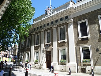 Worshipful Company of Armourers and Brasiers - Armourers' Hall, London.