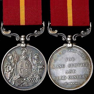 Army Long Service and Good Conduct Medal (Cape of Good Hope)