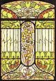 Arnold Lyongrün, Vorlage für ein Jugendstilfenster (Berlin und New York 1900).JPG