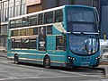 Arriva Kent & Surrey MX61AYJ, Globe Lane, 17 January 2018 (2) (cropped).jpg