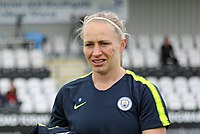 Arsenal WFC v Manchester City WFC, 11 May 2019 (07) (cropped) - Pauline Bremer.jpg