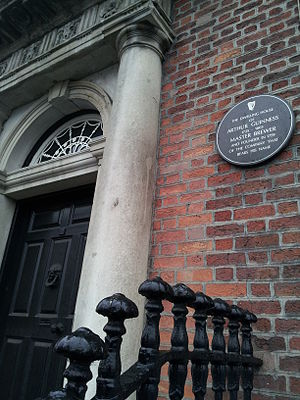 Arthur Guinness - Arthur Guinness's home on Thomas Street