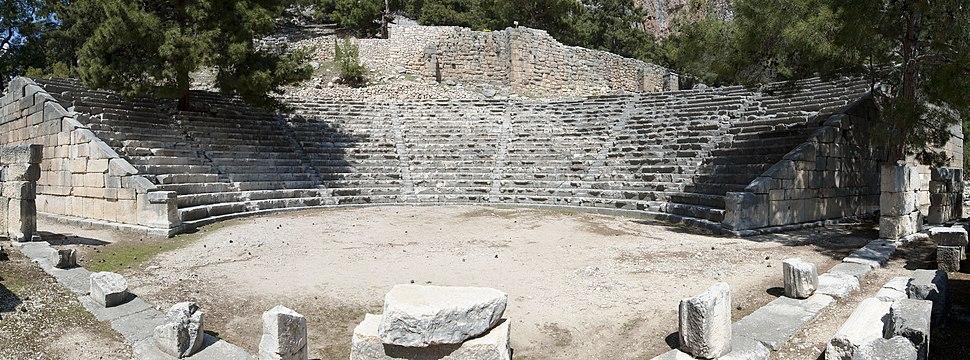 Arycanda Theatre panorama 5011