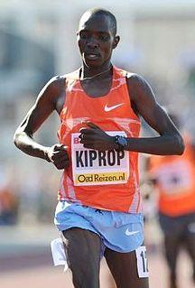 Asbel Kiprop Kenyan middle-distance runner