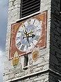 Aschbach Herz-Jesu-Kirche Uhr.JPG