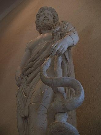 Archaeological Museum of Epidaurus - Statue of Asklepios