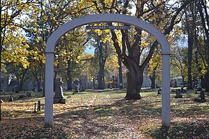 National Register of Historic Places listings in Jackson County, Oregon - Image: Ashland Cemetery (Ashland, Oregon)