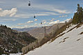 Aspen Mountain Silver Queen Gondola over Copper gulch run.jpg
