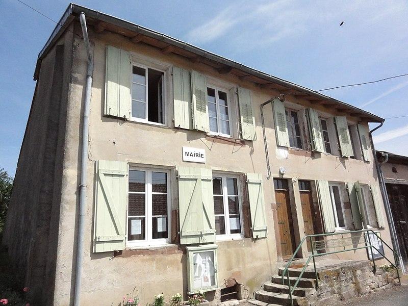 Assenoncourt (Moselle) mairie