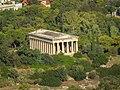 Athen, Hephaistostempel von der Akropolis 2015-09.jpg