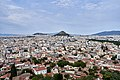 Athens and Mount Lycabettus from the Acropolis on July 16, 2019.jpg