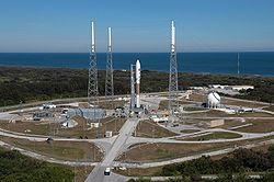 Die Atlas V mit New Horizons kurz vor dem Start