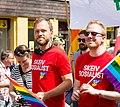 Audun Lysbakken Pride parade 2016 Oslo (140315).jpg