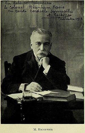 Escoffier, Auguste (1846-1935)