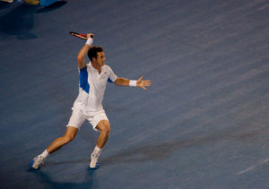 Andy Murray - Murray reached his second Grand Slam Final in Australia